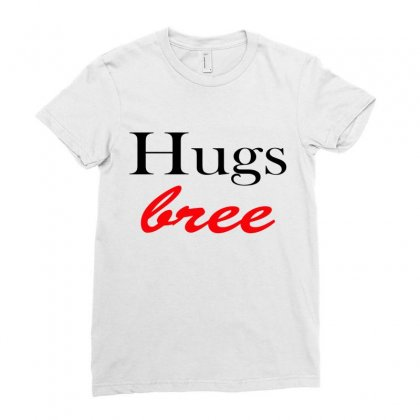 Hug Ladies Fitted T-shirt Designed By Megaagustina