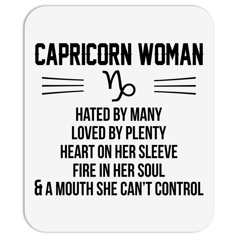 Capricorn Woman Mousepad  By Artistshot