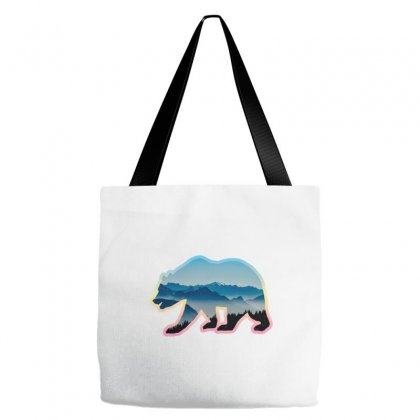 Wild Bear Tote Bags Designed By Oz