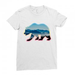 wild bear Ladies Fitted T-Shirt | Artistshot