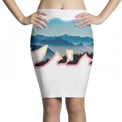 wild bear Pencil Skirts | Artistshot
