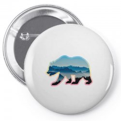 wild bear Pin-back button | Artistshot