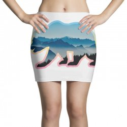 wild bear Mini Skirts | Artistshot
