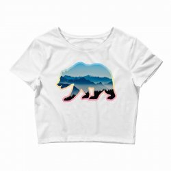 wild bear Crop Top | Artistshot