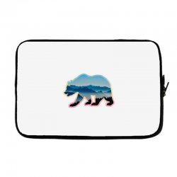 wild bear Laptop sleeve | Artistshot