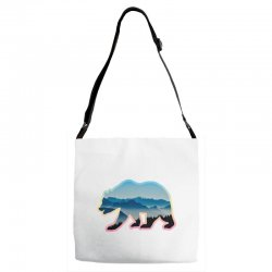 wild bear Adjustable Strap Totes | Artistshot