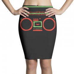 a tribe called quest   speaker hip hop the cutting edge Pencil Skirts | Artistshot