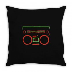 a tribe called quest   speaker hip hop the cutting edge Throw Pillow | Artistshot