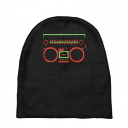 a tribe called quest   speaker hip hop the cutting edge Baby Beanies | Artistshot
