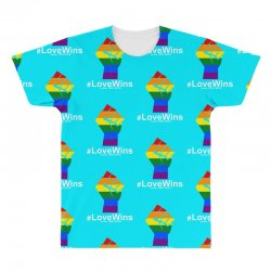 Love Wins 12th 2016 - Orlando Strong All Over Men's T-shirt   Artistshot