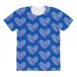 love gym pink dumble All Over Women's T-shirt | Artistshot