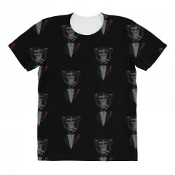 Monkey Busniseman All Over Women's T-shirt | Artistshot