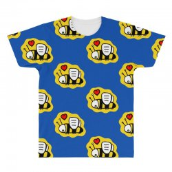 love bee lover valentine All Over Men's T-shirt | Artistshot