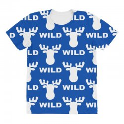 wild animal funny All Over Women's T-shirt | Artistshot