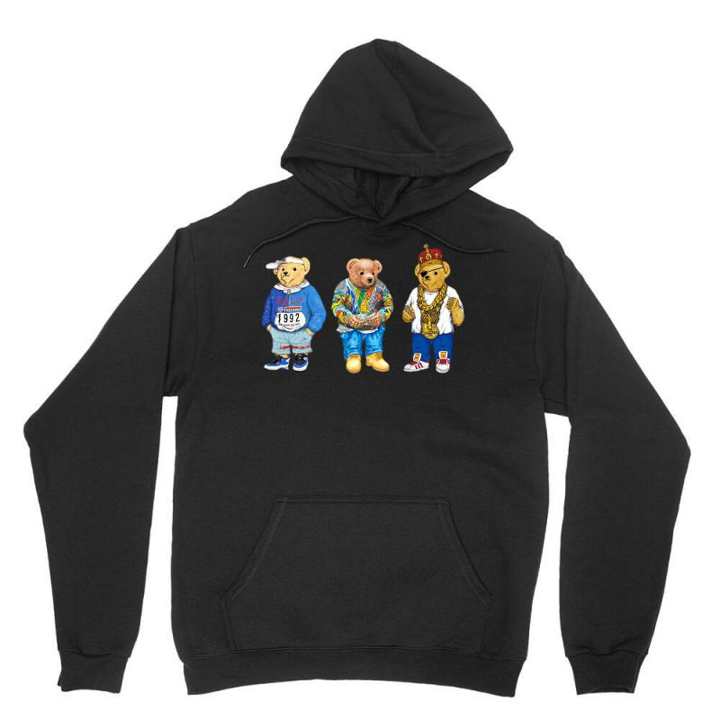cc519f0e0 Custom Polo Bear Unisex Hoodie By Killakam - Artistshot