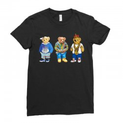 polo bear Ladies Fitted T-Shirt | Artistshot