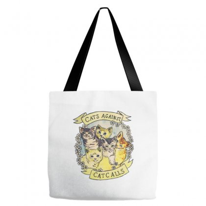 Cats Against Cat Calls Tote Bags Designed By Oz