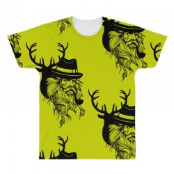 Wise Wild All Over Men's T-shirt | Artistshot
