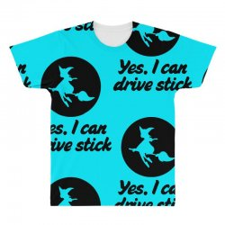 yes i can drive stick All Over Men's T-shirt | Artistshot