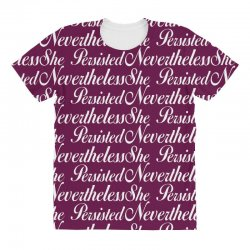 Neveretheless she persisted All Over Women's T-shirt | Artistshot