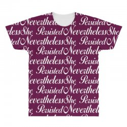 Neveretheless she persisted All Over Men's T-shirt | Artistshot