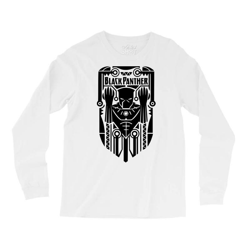 910326f7 Black Panther 2 Long Sleeve Shirts. By Artistshot