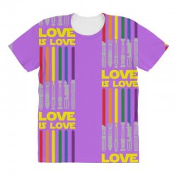 Lightsaber Rainbow - Love Is Love All Over Women's T-shirt | Artistshot