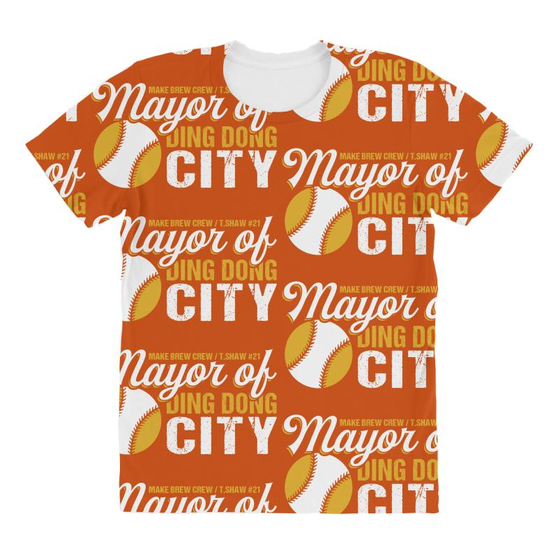 Travis Shaw - Mayor Of Ding Dong City All Over Women's T-shirt | Artistshot
