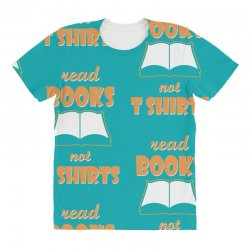 humor book t shirt All Over Women's T-shirt | Artistshot
