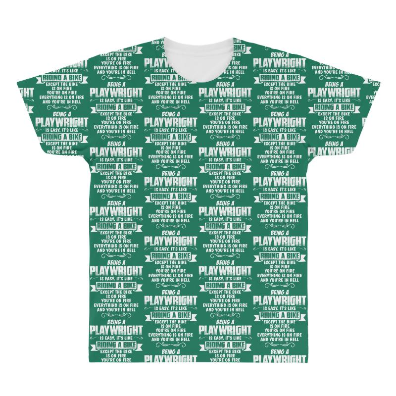 Being A Playwright All Over Men's T-shirt | Artistshot