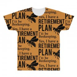 Yes I have a Retirement Plan All Over Men's T-shirt | Artistshot