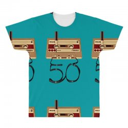 music tape retro All Over Men's T-shirt | Artistshot