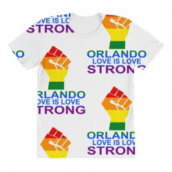 Love Is Love, Orlando Strong All Over Women's T-shirt | Artistshot