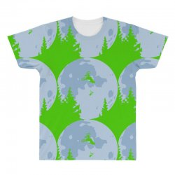 funny et moon bmx All Over Men's T-shirt | Artistshot