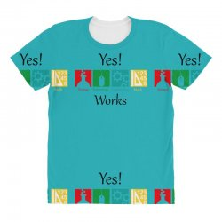yes work science All Over Women's T-shirt | Artistshot