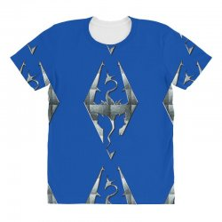 Skyrim All Over Women's T-shirt | Artistshot