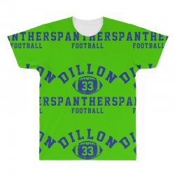 DILLON PANTHERS FOOTBALL All Over Men's T-shirt | Artistshot
