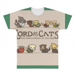 Lord Of The Cats All Over Men's T-shirt | Artistshot