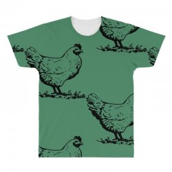 funny chiken All Over Men's T-shirt | Artistshot
