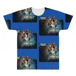 stranger things 01 All Over Men's T-shirt | Artistshot