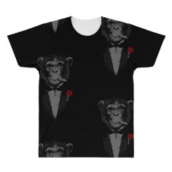 Monkey Busniseman All Over Men's T-shirt | Artistshot