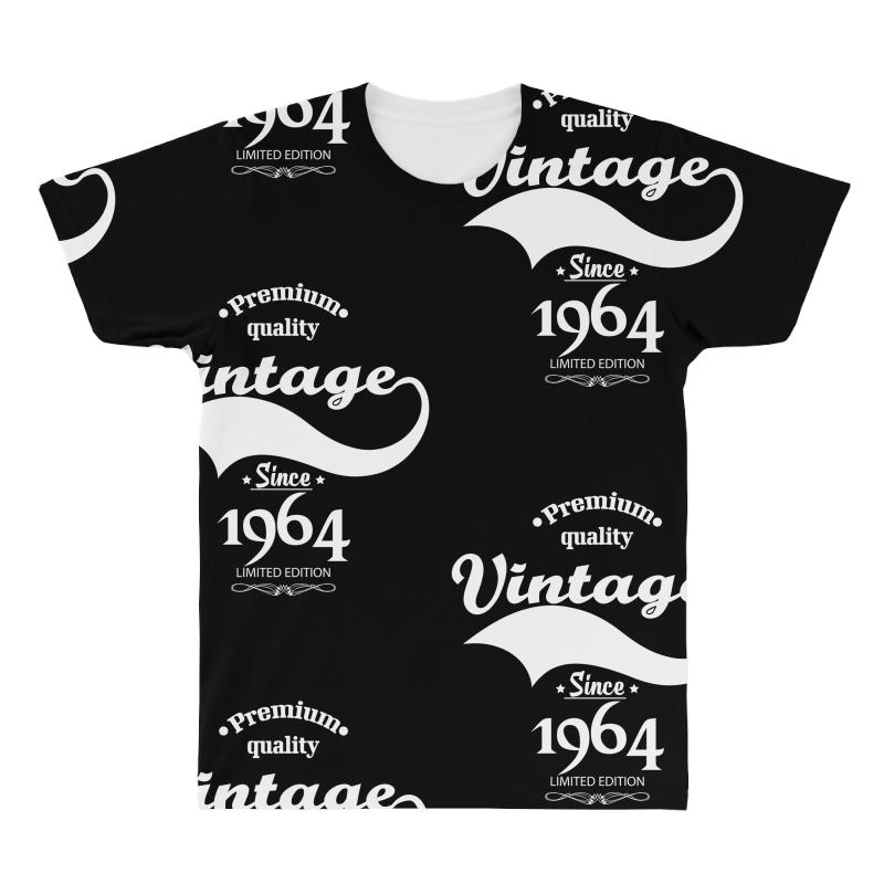 Premium Quality Vintage Since 1964 Limited Edition All Over Men's T-shirt | Artistshot