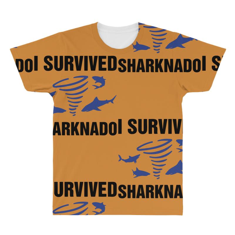 I Survided Sharknado All Over Men's T-shirt | Artistshot