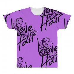 love is in the hair All Over Men's T-shirt   Artistshot