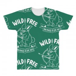 wild and free All Over Men's T-shirt | Artistshot