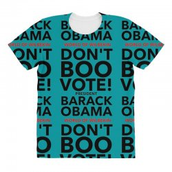 Don't Boo Vote All Over Women's T-shirt | Artistshot