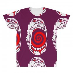 screaming face All Over Men's T-shirt | Artistshot