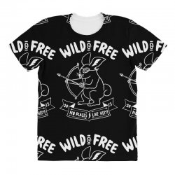 wild and free All Over Women's T-shirt | Artistshot