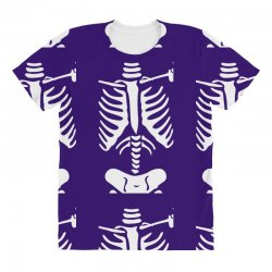funny bone skeleton All Over Women's T-shirt | Artistshot