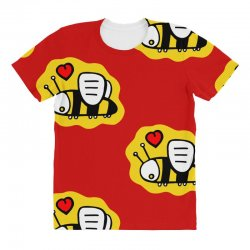 love bee lover valentine All Over Women's T-shirt | Artistshot
